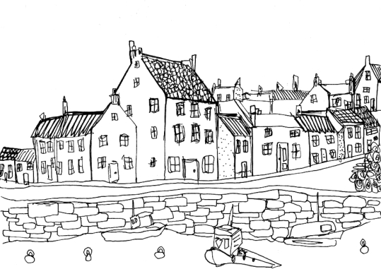 Crail Harbour, Scotland